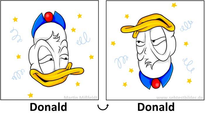 Drehbild Drunken Donald