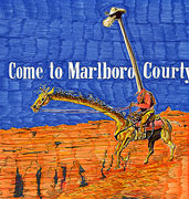 Come to Marlboro Courty Giraffe