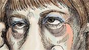Strahlende Augen der Kanzlerin