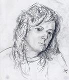 Bleistift Portrait (Anja)