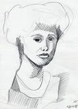 11: Bleistiftzeichnung (Marion)