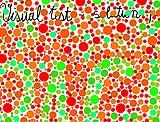 Sehtest - rot-grün-blind