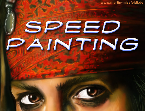 Speedpainting - Digitale Malerei als colles Zeitraffer Video
