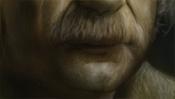 Schnurrbart von Einstein