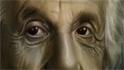 Einsteins sanfte Augen