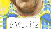 Baselitz Zettel, Hemd mit Muster