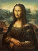 Mona Lisa digital - Leonardo da Vinci