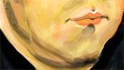 Mund und Doppelkinn von M. Luther