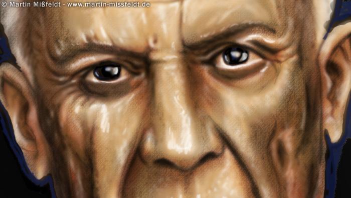 Picasso Augen