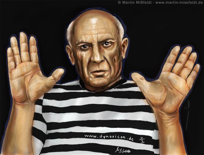 Pablo Picasso Hände