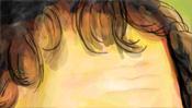 Stirn und Haaransatz
