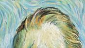 Stirn und Haare von van Gogh