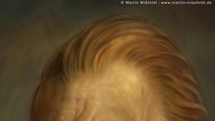stirn und rote haare retusche aus vincent van gogh photoshop