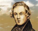 Speed painting: Robert Schumann