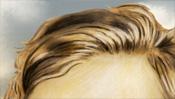 Scheitel, Haare