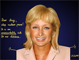 Angela Merkel Retusche (wie Paris Hilton)