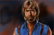 Chuck Norris Portrait