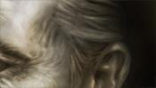 Haaransatz am Ohr