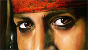 Johnny Depp Augen