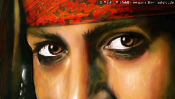 Johnny Depp Augen (aus...