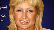 Paris Hilton Gesicht