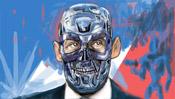 Digitale Malerei Schritt 4: Gesicht mit Maske