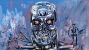 Terminator Digitale Malerei