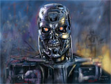 Speed painting Terminator