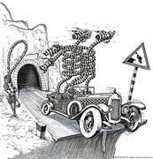 2: Unfall-Ursache am Tunnel  Ende