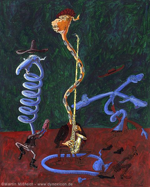 Saxophonie - Der Protagonist ist also ein Saxophonist, kein Seophonist - Mist!