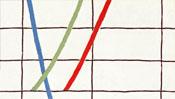 farbige Kurven des Farbspektrums