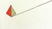 Abbild einer rot-grünen Pyramide