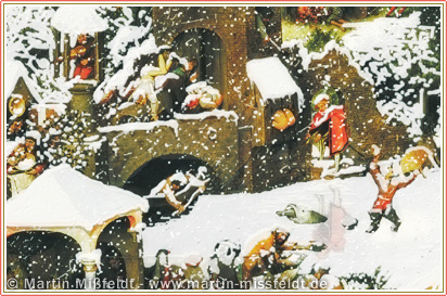 Weihnachtsbild 2010 (nach Pieter Bruegel)