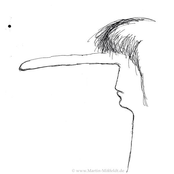 Pinocchio als erwachsener Mann
