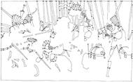 Reiterschlacht Cotignola 1 (nach Paolo Uccello)