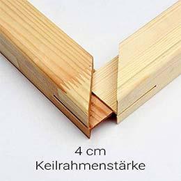 Keilrahmen 4 cm (Holzleisten)