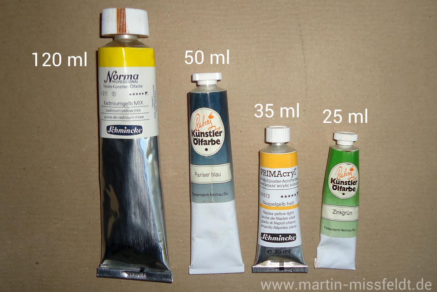 ölfarbe Bestandteile Und Eigenschaften