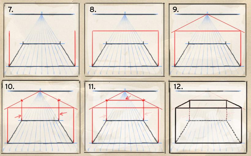 Perspektive zeichnen - wie geht das? ein tutorial von martin mißfeldt
