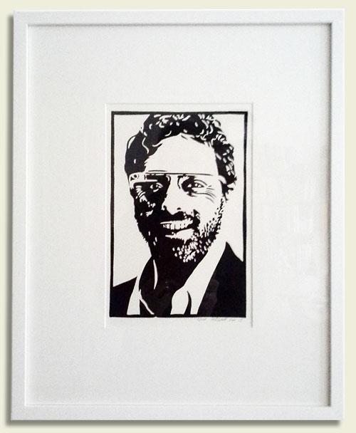 Kunstdruck im online Shop kaufen, z.B. den Linoldruck