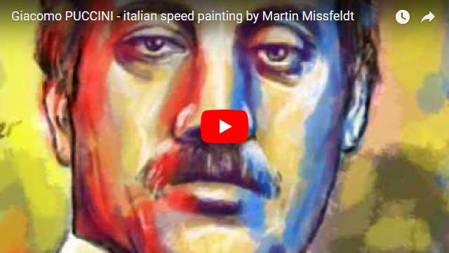 Bildnis von Giacomo Puccini