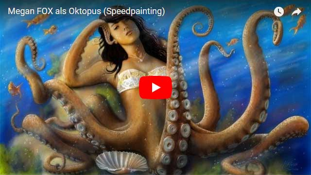 Megan Fox als Oktopus