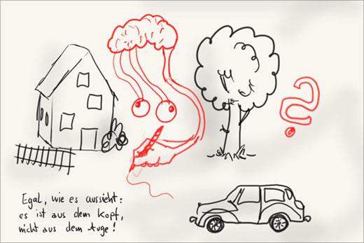 Zeichnen lernen: Mit Raster von Vorlage abzeichnen