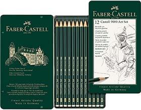 Bleistift-Set Faber-Castell 9000 (12-er Etui)