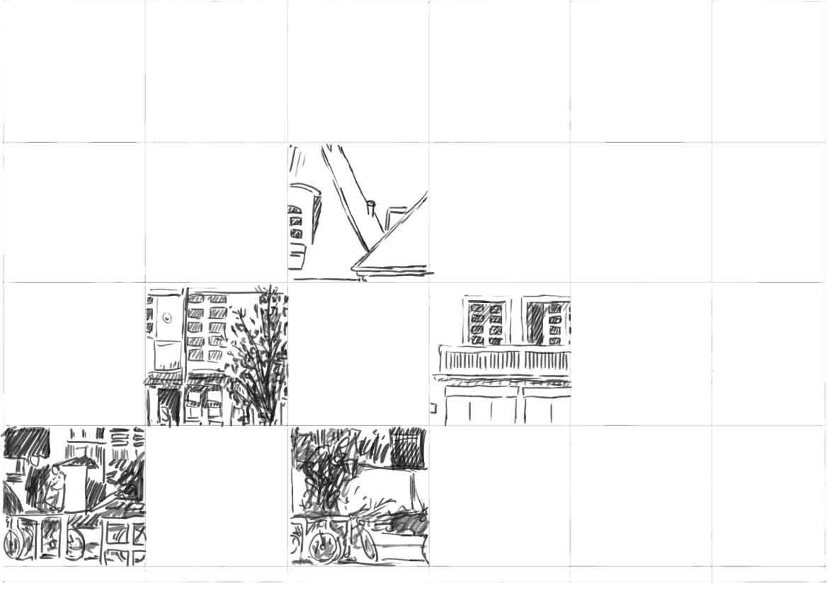 Mit Einem Raster Eine Vorlage Abzeichnen Zeichnen Lernen 3