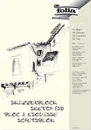 Skizzenblock A3 folia (50 Blatt)
