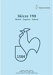 Skizzenblock A3 Hahnemühle (50 Blatt)