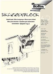 Skizzenblock A4 folia (50 Blatt)